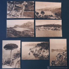 Postales: 7 POSTALES DE MALLORCA / SERIE TRUYOL / SOLLER - BELLVER - DEYA / BALEARES. Lote 54471010