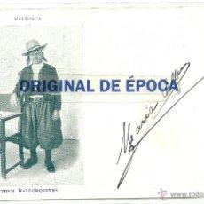 Postales: (PS-47746)POSTAL DE MALLORCA-TIPOS MALLORQUINES. Lote 54541291