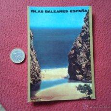 Postales: TARJETA POSTAL POST CARD ISLAS BALEARES ESPAÑA CARTELES TURISTICOS LA CALOBRA RADIO EXTERIOR REE QSL. Lote 54691692