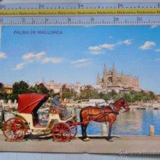 Postales - POSTAL DE MALLORCA. AÑO 1968. PALMA, BAHÍA, LONJA, CATEDRAL, COCHE DE CABALLOS. 707 - 54692611