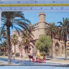 Postales: POSTAL DE MALLORCA. AÑO 1972. PALMA, COCHE DE CABALLOS EN LA LONJA. 715. Lote 54692726