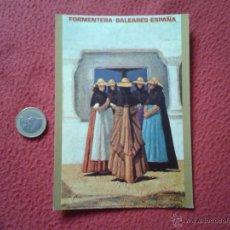 Postales: TARJETA POSTAL POST CARD ISLAS BALEARES FORMENTERA ESPAÑA CARTELES TURISTICOS RADIO EXTERIOR DE REE . Lote 54709031