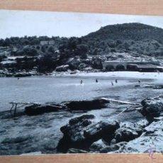 Postales: POSTAL ANTIGUA IBIZA. PLAYA ARENAL DE PORTINAIX. Lote 54727855