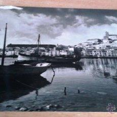 Postales: POSTAL ANTIGUA IBIZA. ASPECTO DEL PUERTO. . Lote 54727889