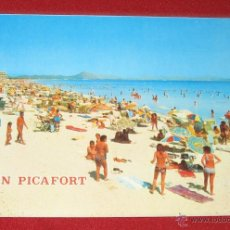 Postales: CAN PICAFORT (MALLORCA) - ICARIA Nº 7079 - AÑO 1972. Lote 54934121
