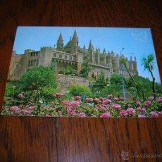 Postales: PRECIOSA POSTAL DE PALMA DE MALLORCA.LA CATEDRAL .IMPRESA LA PALOMA DE LA PAZ. Lote 54946301