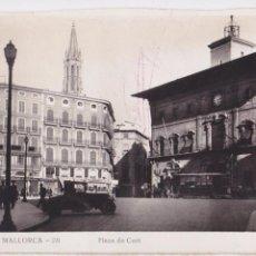 Postales: P- 4654. POSTAL DE PALMA DE MALLORCA. PLAZA DE LA CORT Nº28.. Lote 55029286