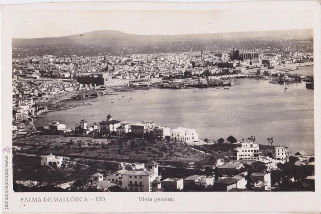 P- 4655. POSTAL PALMA DE MALLORCA. VISTA GENERAL Nº 120. (Postales - España - Baleares Moderna (desde 1.940))