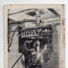 Postales: PALMA DE MALLORCA. UNA NORIA. CENSURA MILITAR DE PALMA DE MALLORCA. ESCRITA EL 12 JULIO 1939.. Lote 55037571