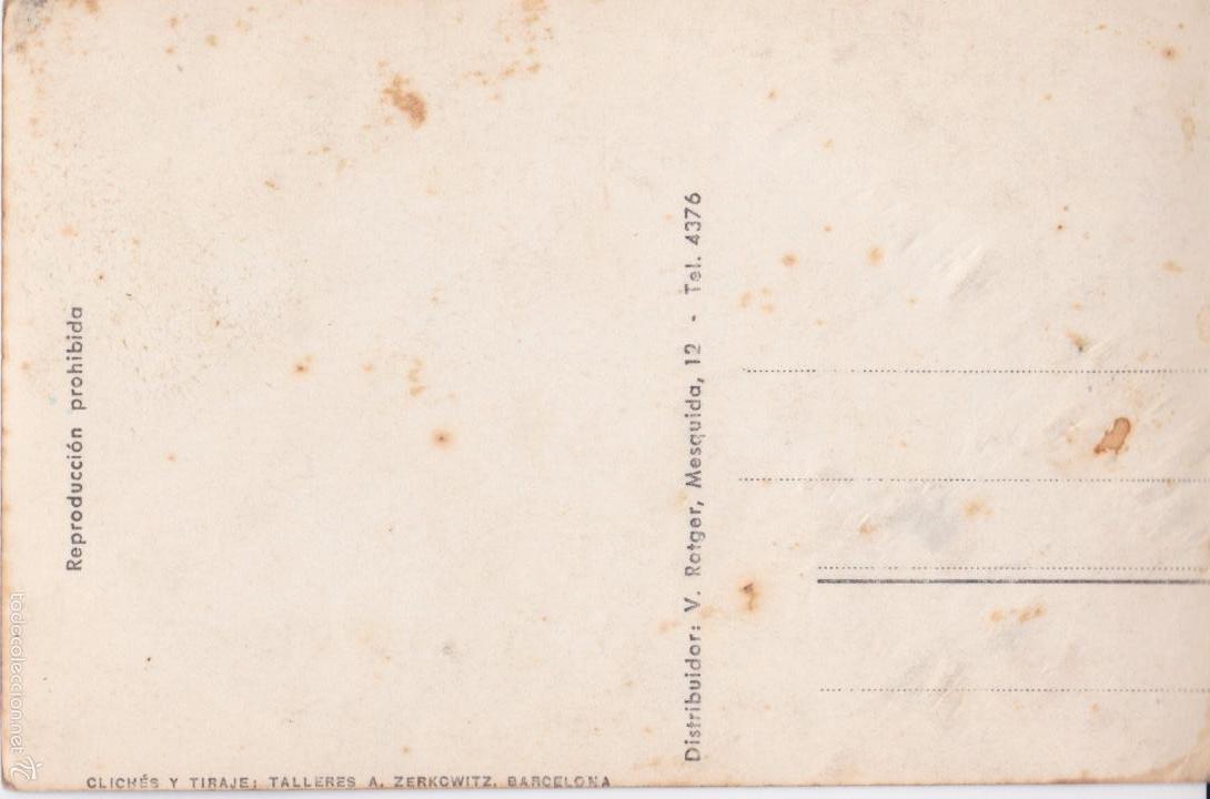 Postales: P- 4815. POSTAL FORMENTOR, MALLORCA Nº 707. DETALLE DE LA CARRETERA. ZERKOWITZ. - Foto 2 - 55315825