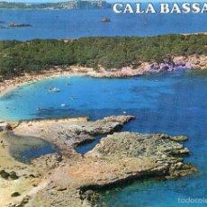 Postales: IBIZA / SAN ANTONIO / CALA BASSA / IMPRESA EN 1974. Lote 55809907