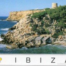 Postales: IBIZA / CALA CARBÓ / IMPRESA EN 1995. Lote 55810192
