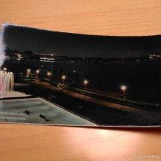 Postales: PALMA DE MALLORCA - ANOCHECER EN LA BAHIA - POSTAL COLOREADA. Lote 56036427