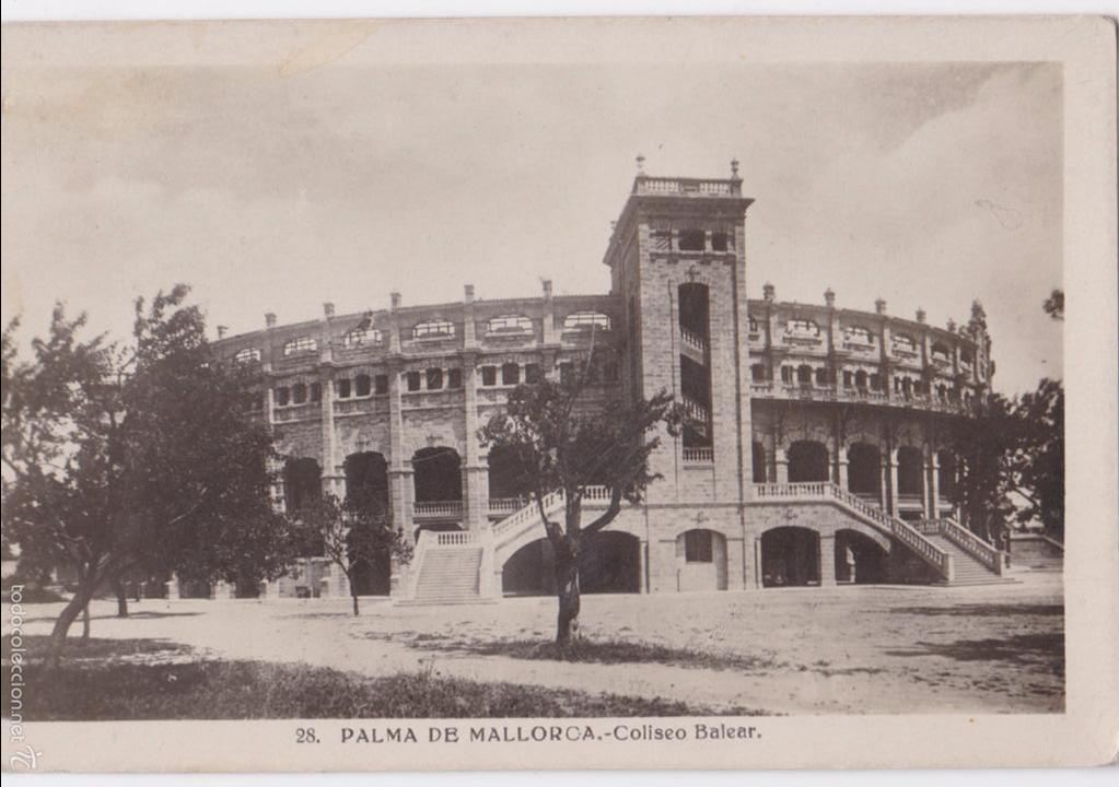 P- 5155. PALMA DE MALORCA. COLISEO BALEAR. Nº 28. (Postales - España - Baleares Moderna (desde 1.940))