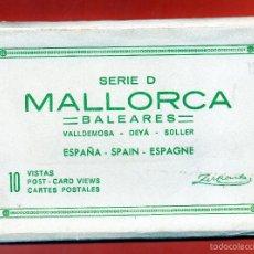 Postales: MALLORCA - ACORDEON DE 10 POSTALES DIFERENTES. Lote 56797557
