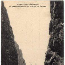 Postkarten - BONITA POSTAL - MALLORCA (BALEARES) - LA DESEMBOCADURA DEL TORRENT DE PAREYS - BARCO - 56804790