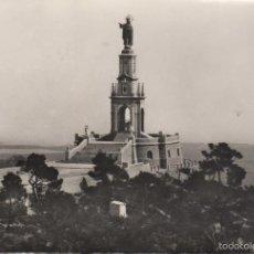 Postales: POSTAL MALLORCA FELANTIX PUIG DE SAN SALVADOR MONUMENTO AL SAGRADO CORAZON. Lote 56956035