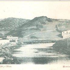Postales: MAHON ALFARERÍAS FOTOTIPIA MADRIGUERA BARCELONA EXCLUSIVAS DE CALAFAT Y OLIVES. Lote 56978197