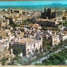 Postales: PALMA DE MALLORCA - VISTA AEREA DE LA CATEDRAL. Lote 57149740