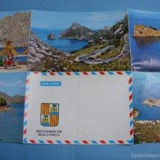 Postales: ANTIGUA POSTAL DESPLEGABLE RECUERDO DE MALLORCA. SIN USAR.. Lote 57393689