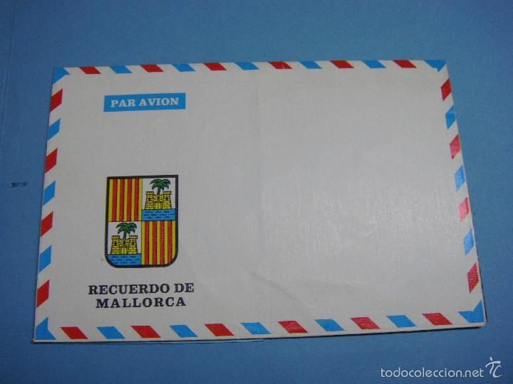 Postales: Antigua postal desplegable recuerdo de Mallorca. Sin usar. - Foto 2 - 57393689