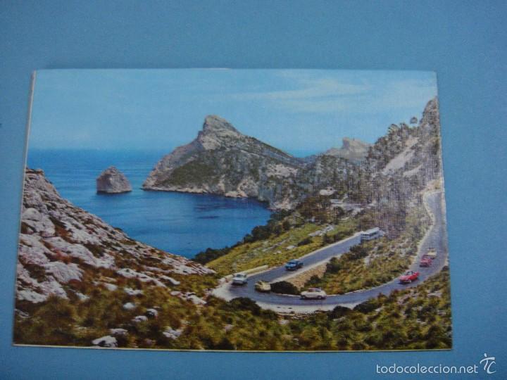 Postales: Antigua postal desplegable recuerdo de Mallorca. Sin usar. - Foto 3 - 57393689