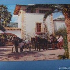Postales: POSTAL MALLORCA. BARBACOA FIESTA ANDALUZA. POSTAL ESPORLAS. MALLORCA. CARRETERA S´ESGLAYETA. 1975. Lote 57538374