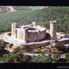 Postales: ANTIGUA POSTAL DE MALLORCA . CASTILLO DE BELLVER. AÑOS 50. SIN CIRCULAR. Lote 57880979