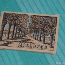 Postales: LIBRITO, CON 9 TARJETAS POSTALES - MALLORCA - MUY ANTIGUO. Lote 57970999