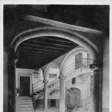 Postales: PALMA DE MALLORCA.- PATIO BARROCO. SIGLO XVI. Lote 58125082