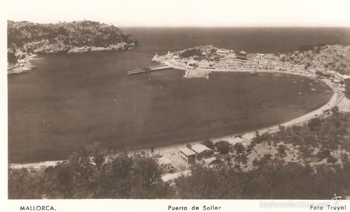 POSTAL DE MALLORCA PUERTO DE SOLLER 12/109 (Postales - España - Baleares Moderna (desde 1.940))