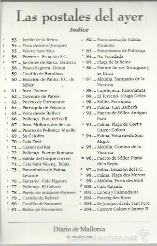 Postales: LAS POSTALES DEL AYER II (DIARIO DE MALLORCA)2000 - Foto 2 - 58580954