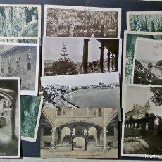 Postales: LOTE DE 15 ANTIGUAS POSTALES DE MALLORCA, VER DETALLE EN FOTOGRAFÍAS . Lote 58582345