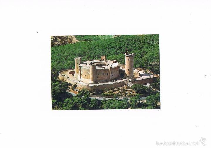 POSTAL ANTIGUA MALLORCA SIN CIRCULAR CASTILLO DE BELLVER VISTA AEREA (Postales - España - Baleares Moderna (desde 1.940))