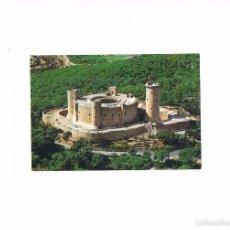 Postales: POSTAL ANTIGUA MALLORCA SIN CIRCULAR CASTILLO DE BELLVER VISTA AEREA. Lote 58937880
