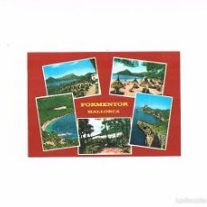 Postales: POSTAL ANTIGUA MALLORCA SIN CIRCULAR POLLENSA FORMENTOR Y EL COLOMERET. Lote 58938145