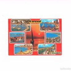 Postales: POSTAL ANTIGUA MALLORCA ESCRITA POR DETRAS PLAYA DE PALMA EL ARENAL. Lote 58941375