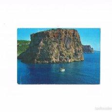 Postales: POSTAL ANTIGUA MALLORCA ESCRITA POR DETRAS CAMP DE MAR DETALLE DE LA COSTA DESDE EL AIRE. Lote 58941480