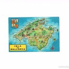 Postales: POSTAL ANTIGUA MALLORCA ESCRITA POR DETRAS ISLA DE MALLORCA. Lote 58941580