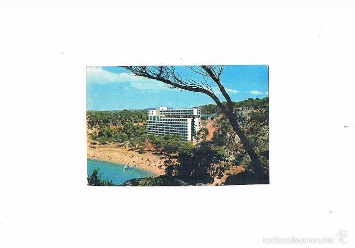 POSTAL ANTIGUA MENORCA SIN CIRCULAR CALA GALDANA HOTEL SARO (Postales - España - Baleares Moderna (desde 1.940))