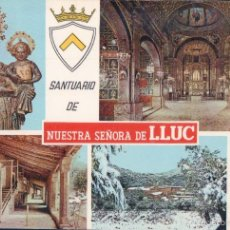 Postales: SANTUARIO DE NUESTRA SEÑORA DE LLUC.- MALLORCA. AGFACOLOR 17. Lote 59751348