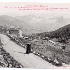 Postales: PS6856 ANDORRA 'PREMIÈRES MÉTAIRIES DU HAMEAU DE SALDEU'. LABOUCHE FR. PRINC. S. XX. Lote 61754816