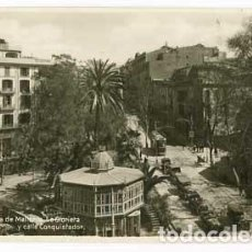 Cartes Postales: PALMA DE MALLORCA LA GLORIETA Y CALLE CONQUISTADOR. . AM. CIRCULADA. Lote 63001340