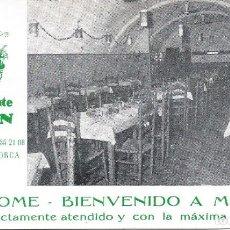 Postales: MAÓ-MENORCA-PUBLICITARIA. Lote 63412404