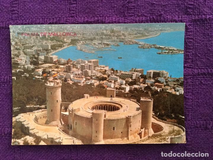 CASTILLO DE BELLVER - PALMA DE MALLORCA 15 . 079 - ICARIA GRAF - AÉREA MIRADOR PANORÁMICA (Postales - España - Baleares Moderna (desde 1.940))