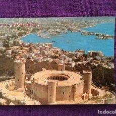 Postales: CASTILLO DE BELLVER - PALMA DE MALLORCA 15 . 079 - ICARIA GRAF - AÉREA MIRADOR PANORÁMICA. Lote 63572176