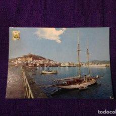 Postales: POSTAL DEL PUERTO EN IBIZA - ISLAS BALEARES - ESCUDO DE ORO Nº 7 - SUBI - BARCOS BARCO. Lote 64002707