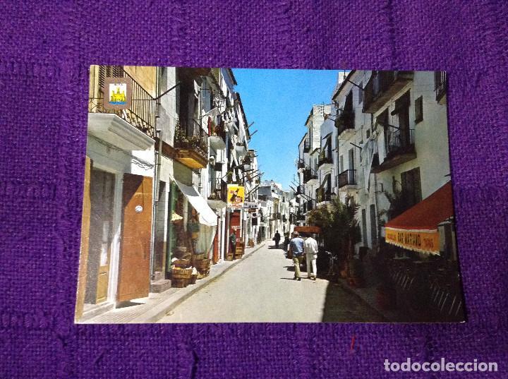 CALLE MAYOR DE IBIZA - ISLA BLANCA - ESCUDO DE ORO Nº 50 - SUBI - FISA - BAR - TAPAS - CAÑAS (Postales - España - Baleares Moderna (desde 1.940))