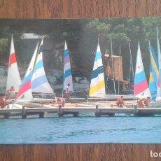 Postales: POSTAL DE PORTO PETRO, MALLORCA AÑOS 80. Lote 277677583