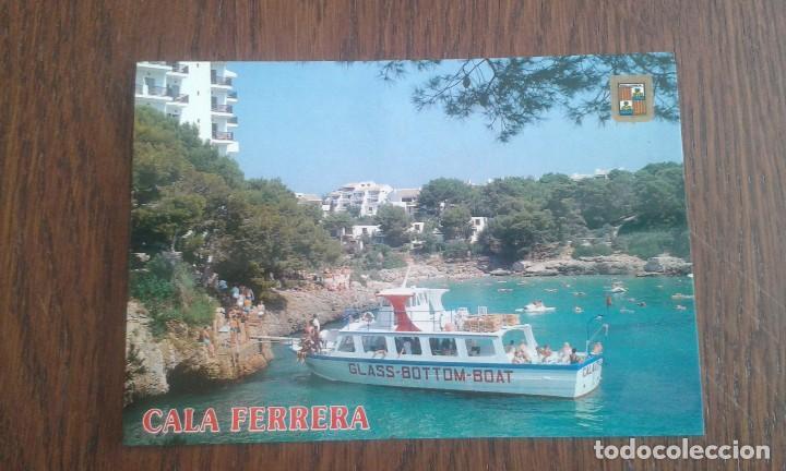POSTAL DE CALA FERRERA, MALLORCA AÑOS 80 (Postales - España - Baleares Moderna (desde 1.940))